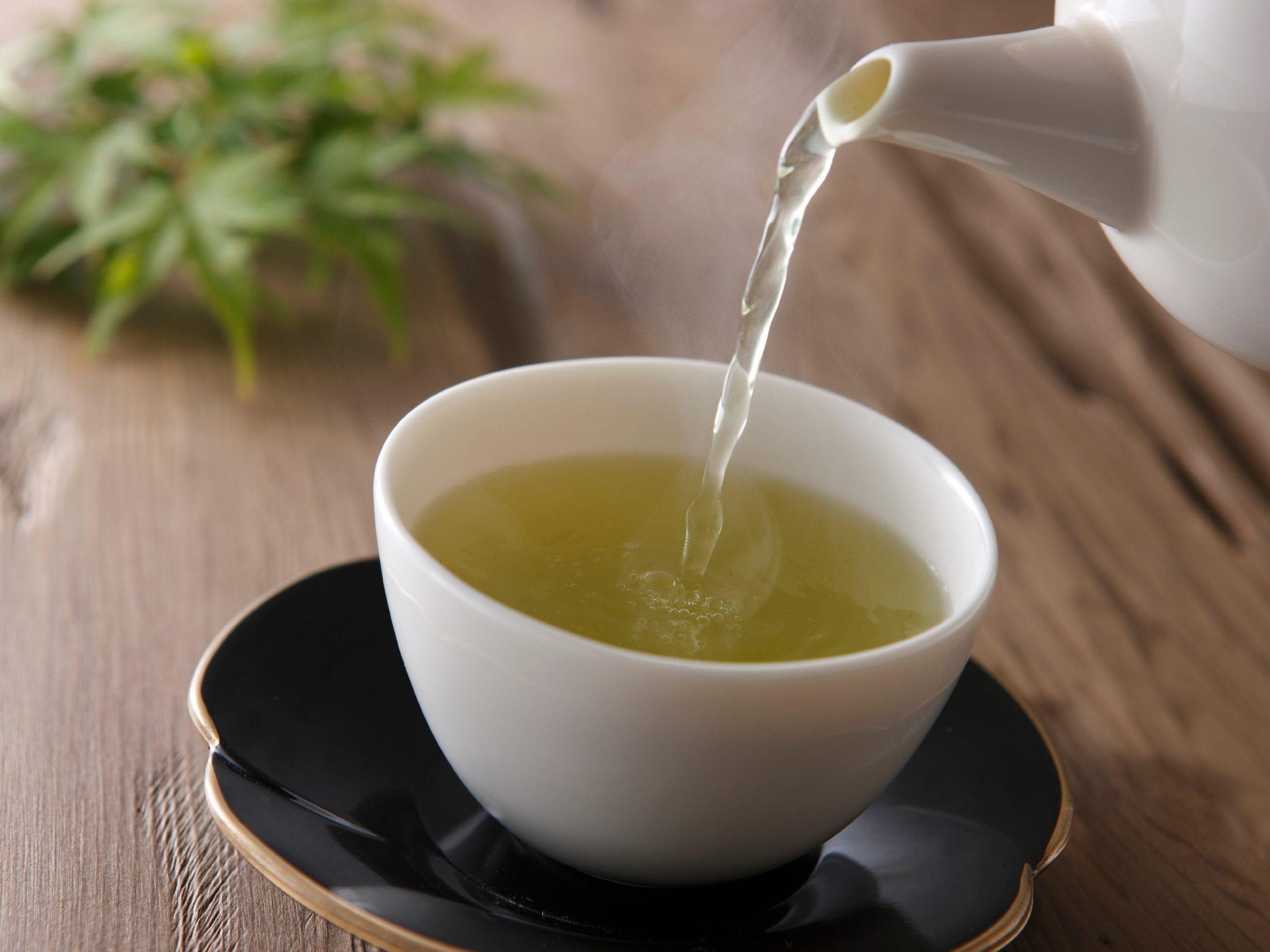 9. Brew a pot of green tea