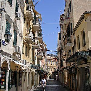 3. Corfu Old Town