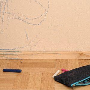 4. Remove Crayon from Walls