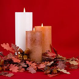 Pretty uses of crayons: Create Colourful Candles