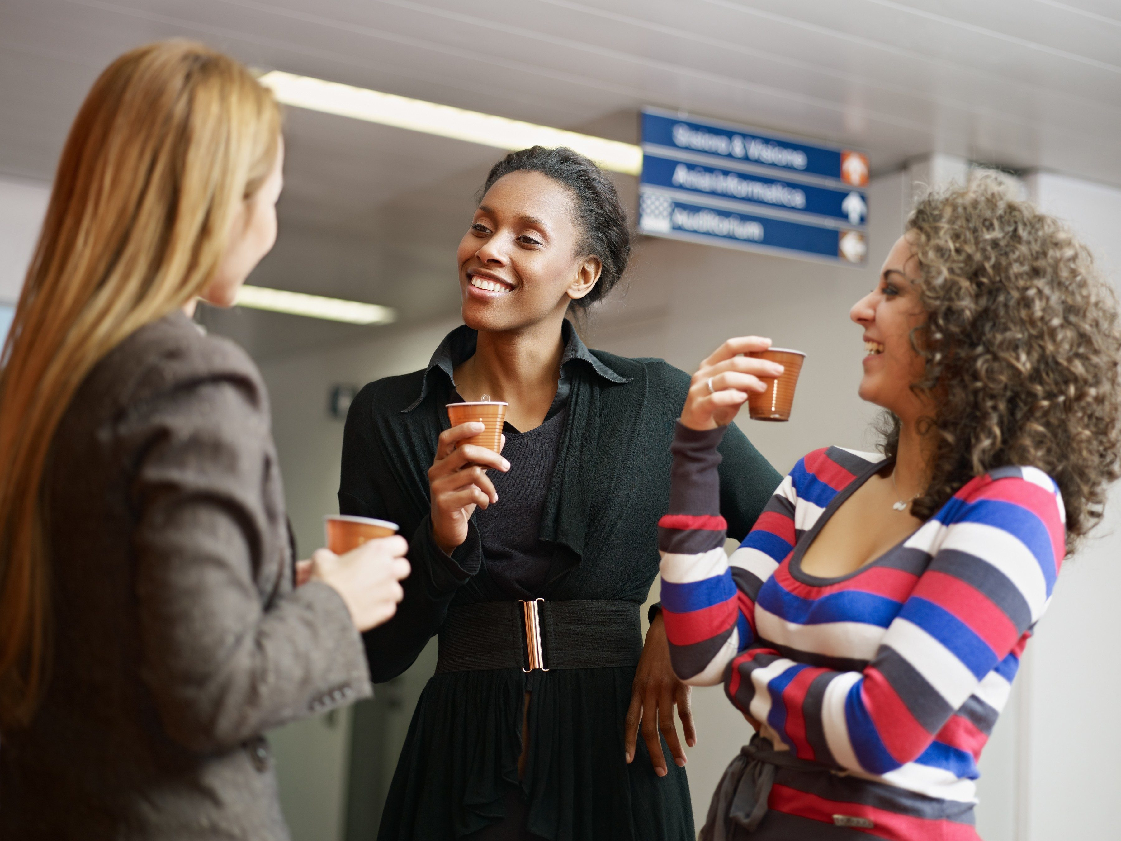 Create a collegial community with your co-workers