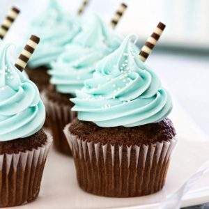 Zucchini Cupcakes With Buttercream Icing