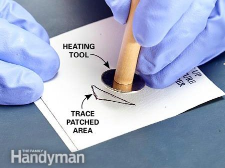 Cure Patch With Heat