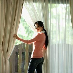 7. Clean Curtains