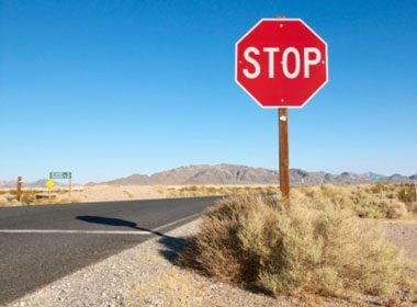 Ignoring Road Signage
