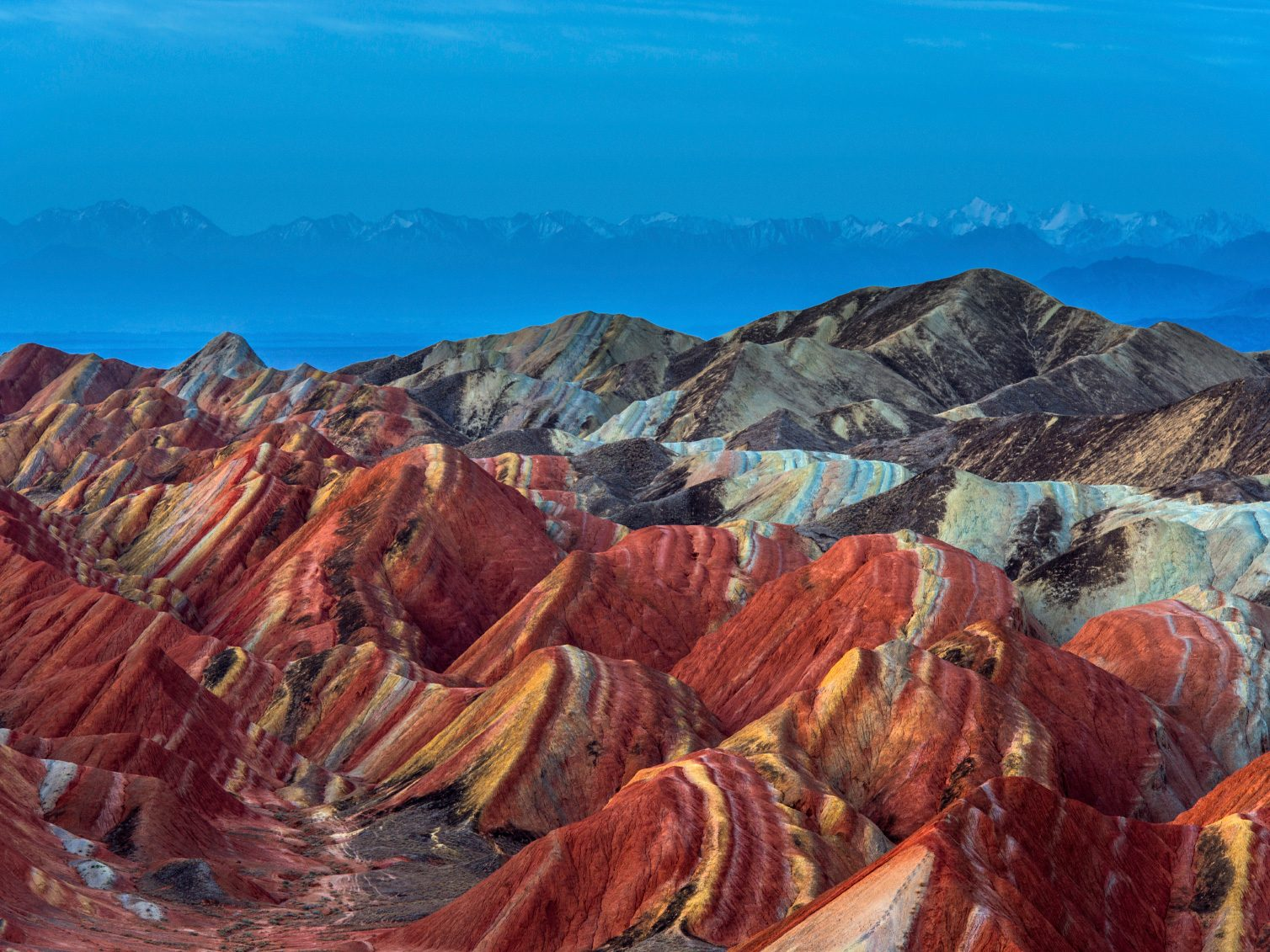 Natural Wonder of China: Danxia landform