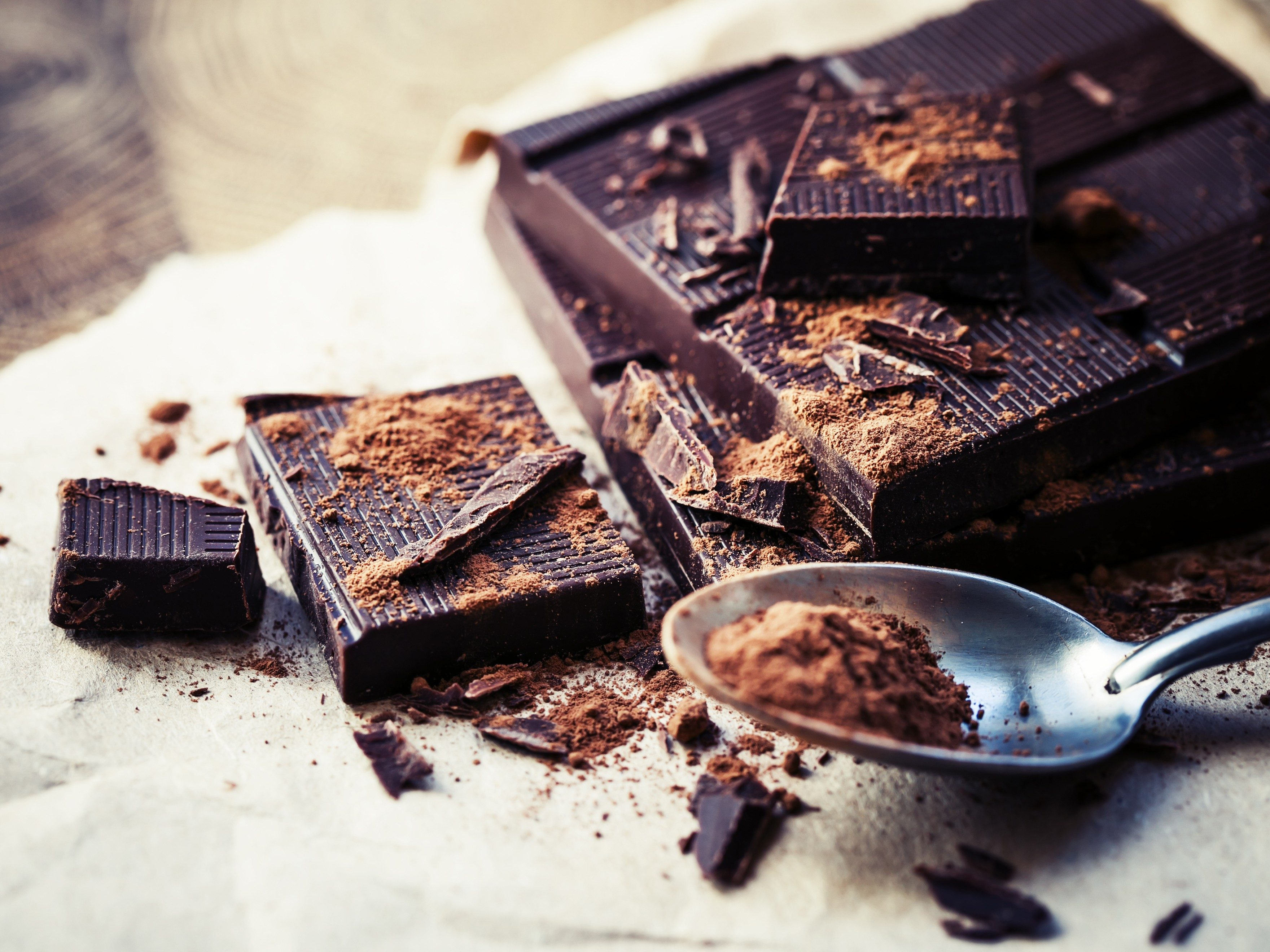 8. Eat dark chocolate