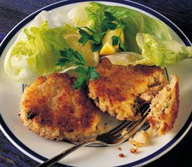 Deliciously Seasoned Seafood Cakes