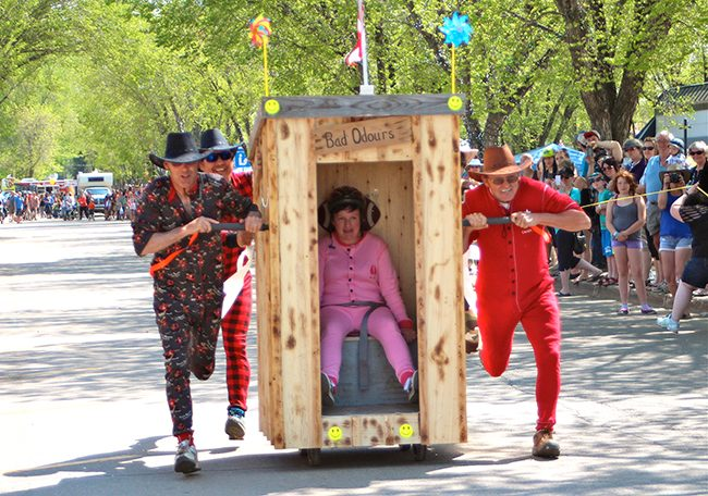 Outhouse Race!