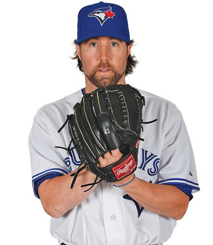 Q&A With Blue Jays Pitcher R.A. Dickey