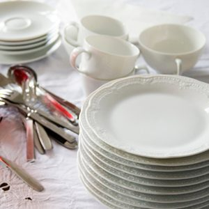 5. Rent the Dishes