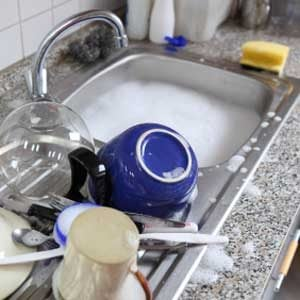 5. Gather Dirty Dishes