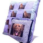 Pet-Portrait Pillows