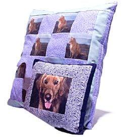 Pet-Portrait Pillows