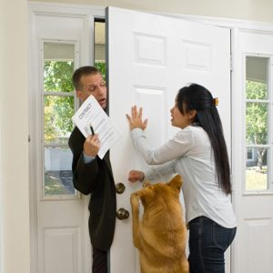 10. Be Wary Of The Door-To-Door Sales