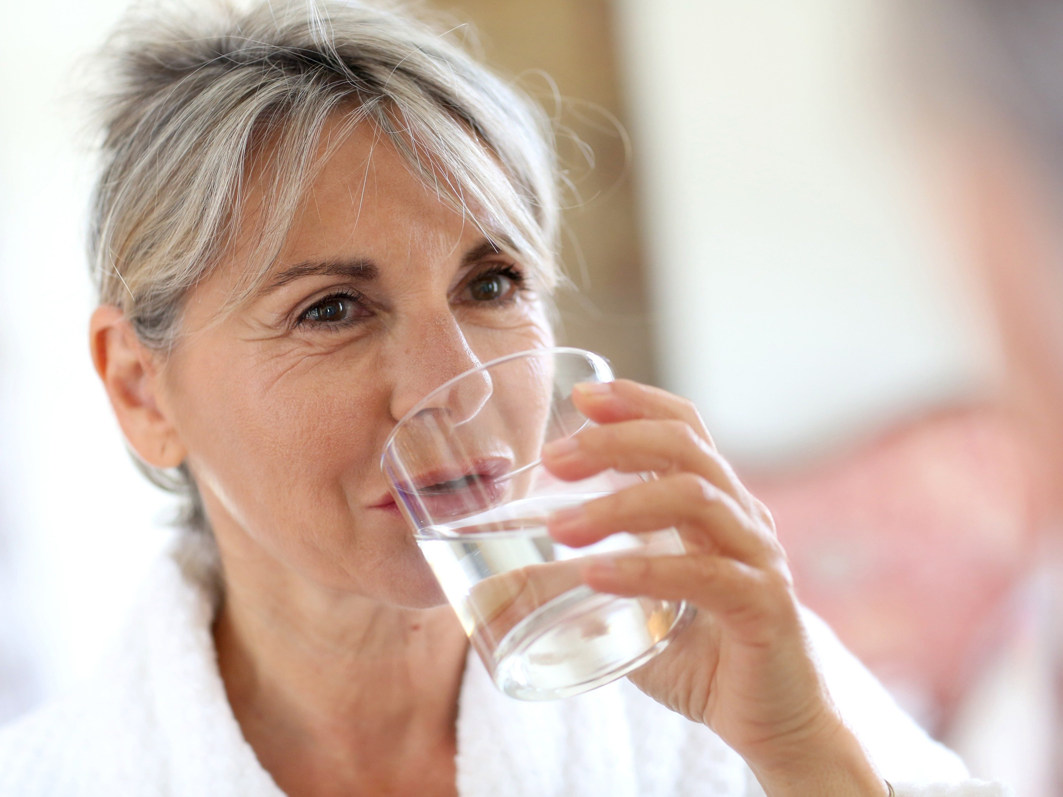 20. Drink an 8-ounce glass of water every two hours.