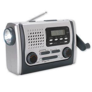 Dynamo Radio with Light