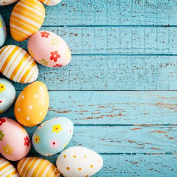 Colourful Easter Feast