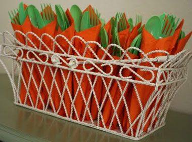 Carrot Silverware Bundles