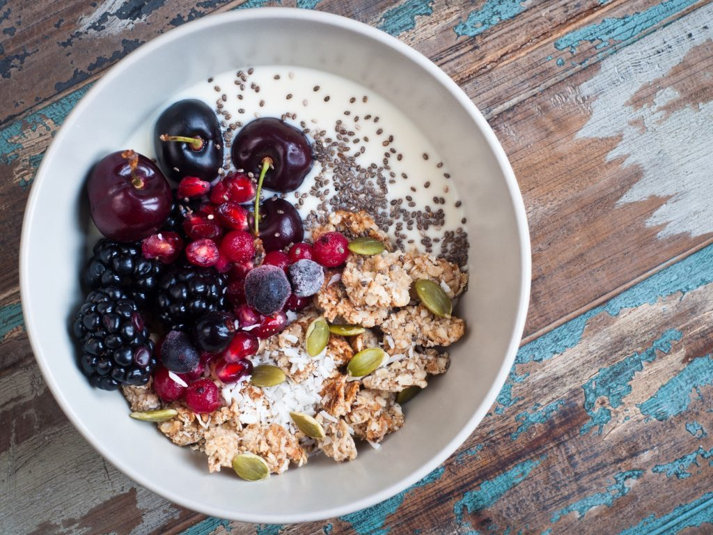 High-fibre breakfast