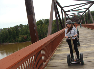 Guided Segway Tours - Edmonton, Alberta