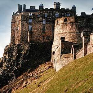 3. Edinburgh Castle, Scotland