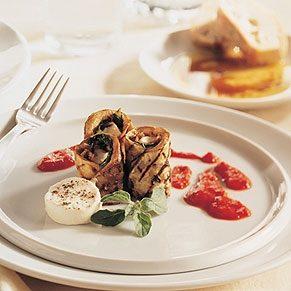 Eggplant Involtini, Sicilian Style