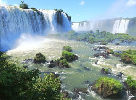 Feel the Mist at Iguazu Falls