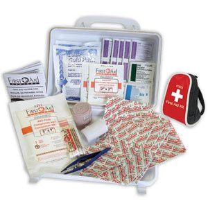 Family First Aid Kit with Mini Backpack