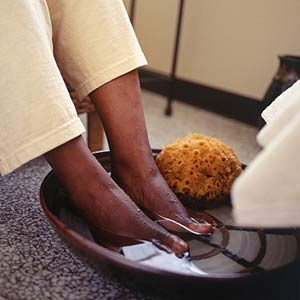 2. Soak Your Feet