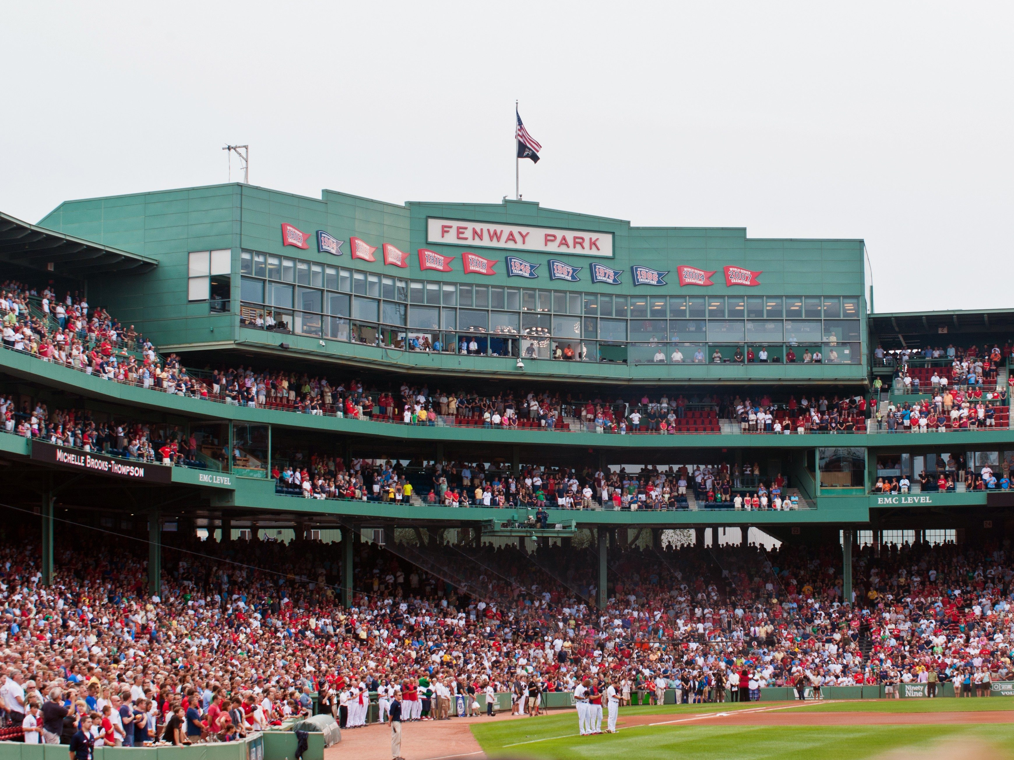 3. Fenway Park - Boston, Massachusetts; home of the Red Sox.