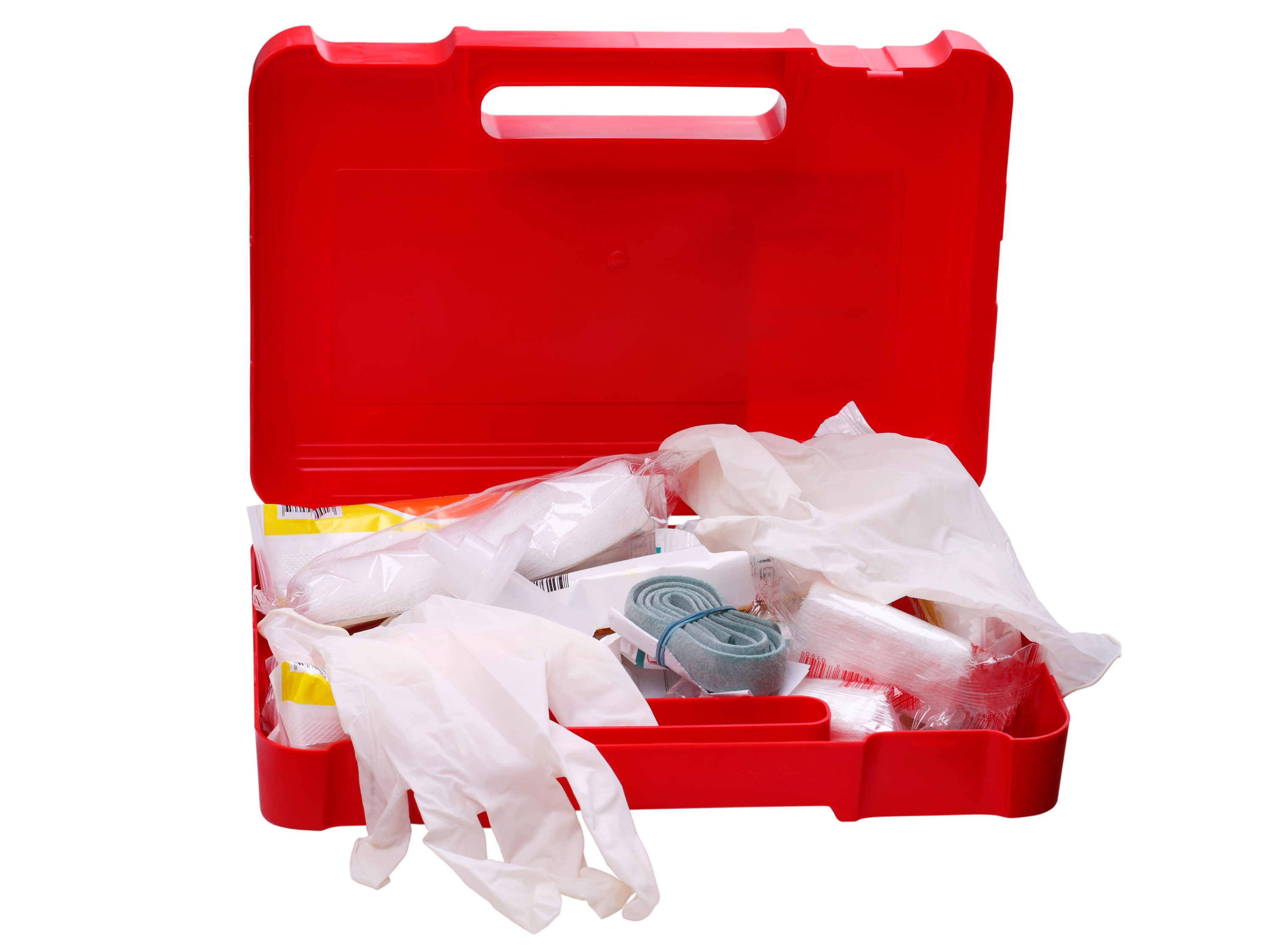First-Aid Kit for the Car