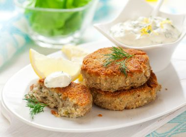 Foods That Soothe Your Stomach: Paprika-Spiced Fish Cakes