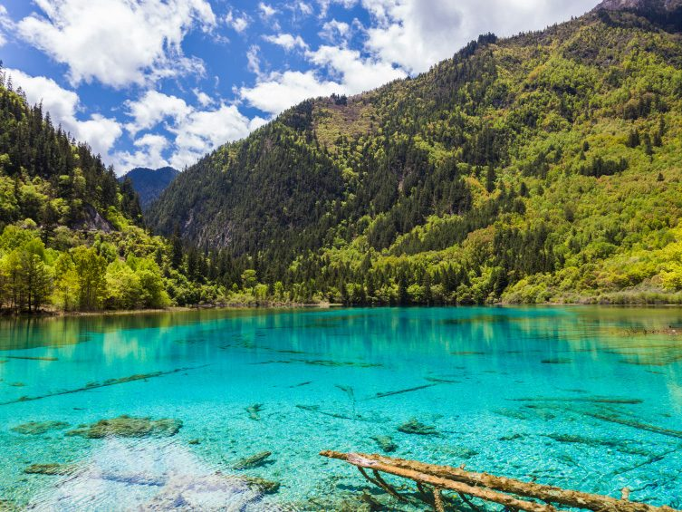 Travel to China for the Five Flower Lake