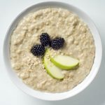 Apple Oatmeal With Flax