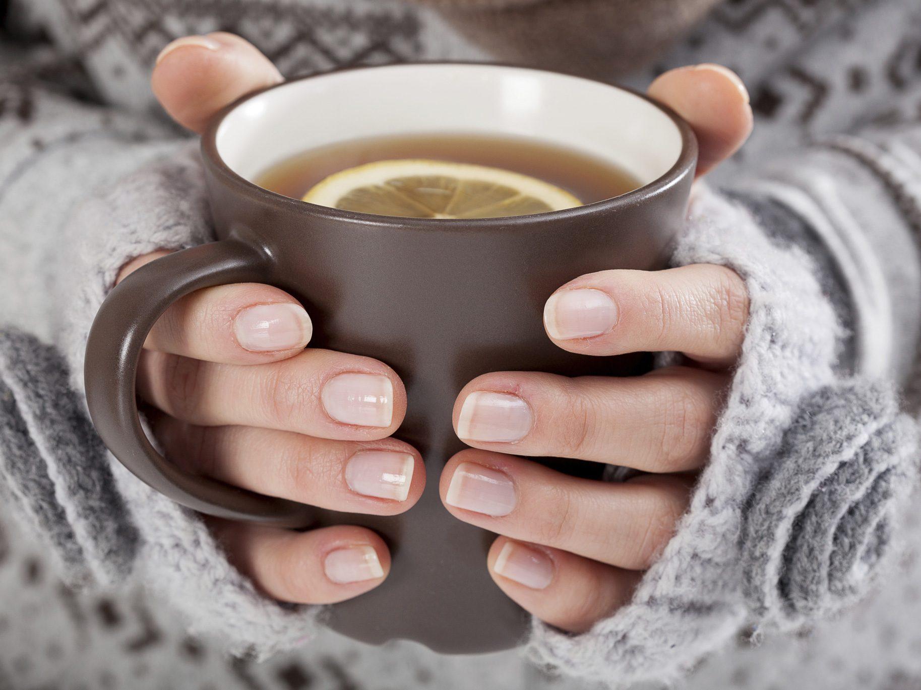 Drink Warm Fluids