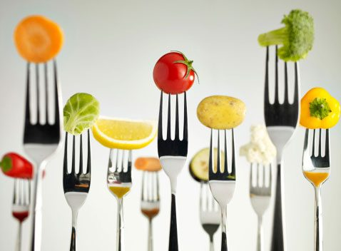 Use less salad dressing