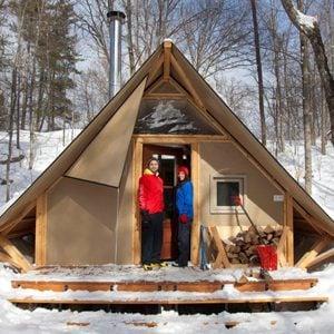 8. Four-Season Tents