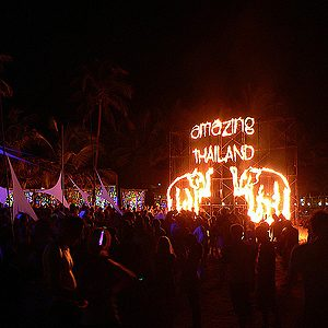 4. Full Moon Party, Thailand
