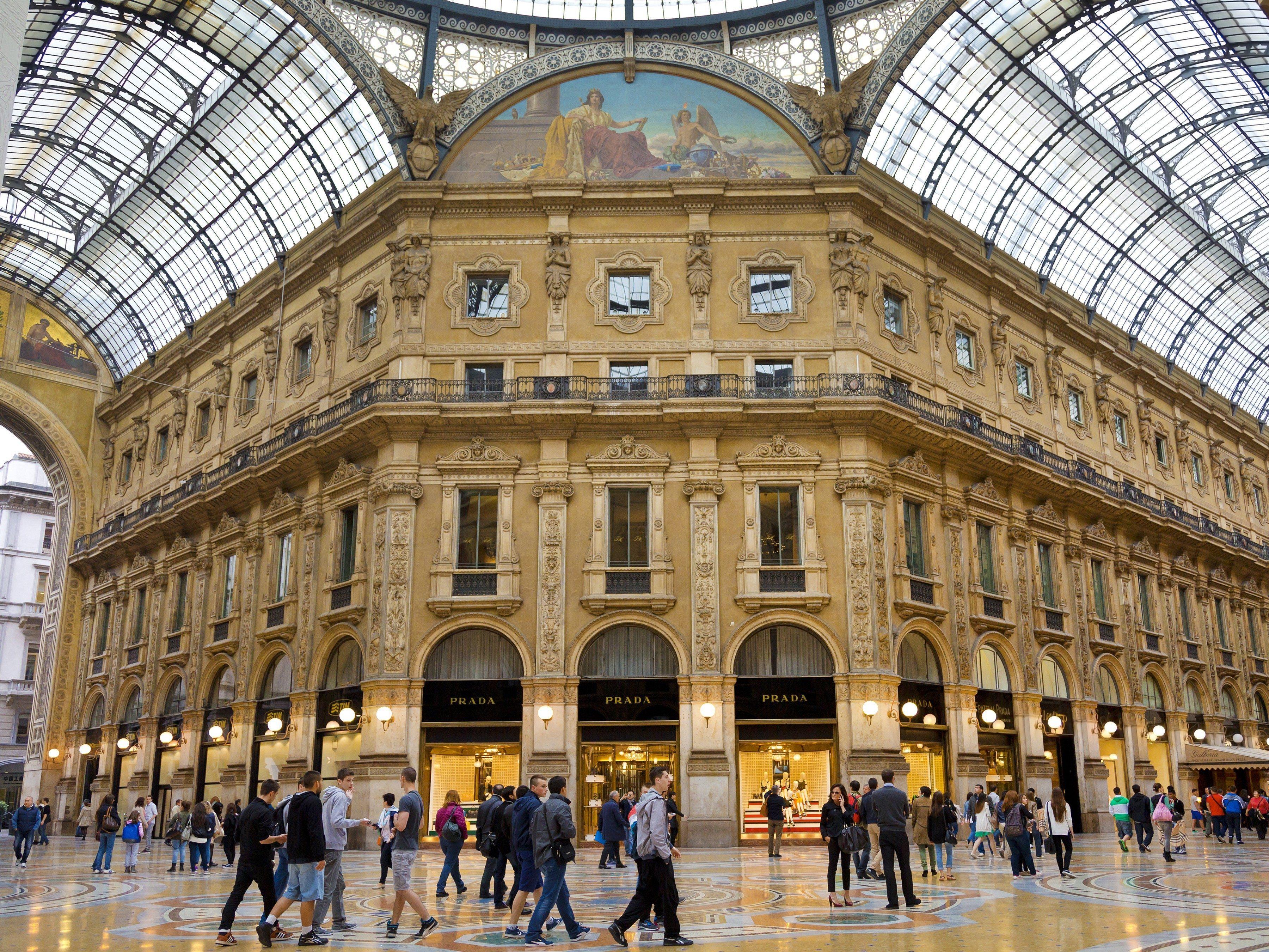2. Galleria Vittorio Emmanuele, Milano
