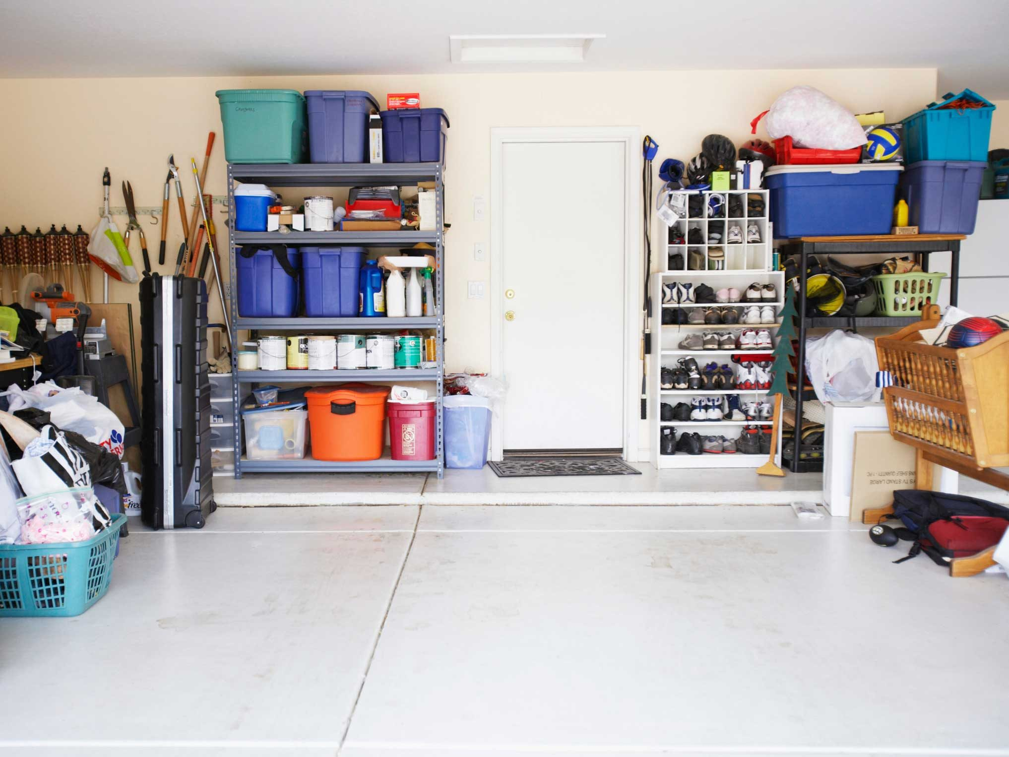 Organizing Hacks for the Garage