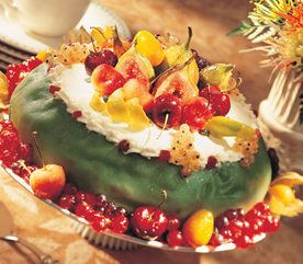 GENOISE WITH CANDIED FRUIT AND FIORELLA