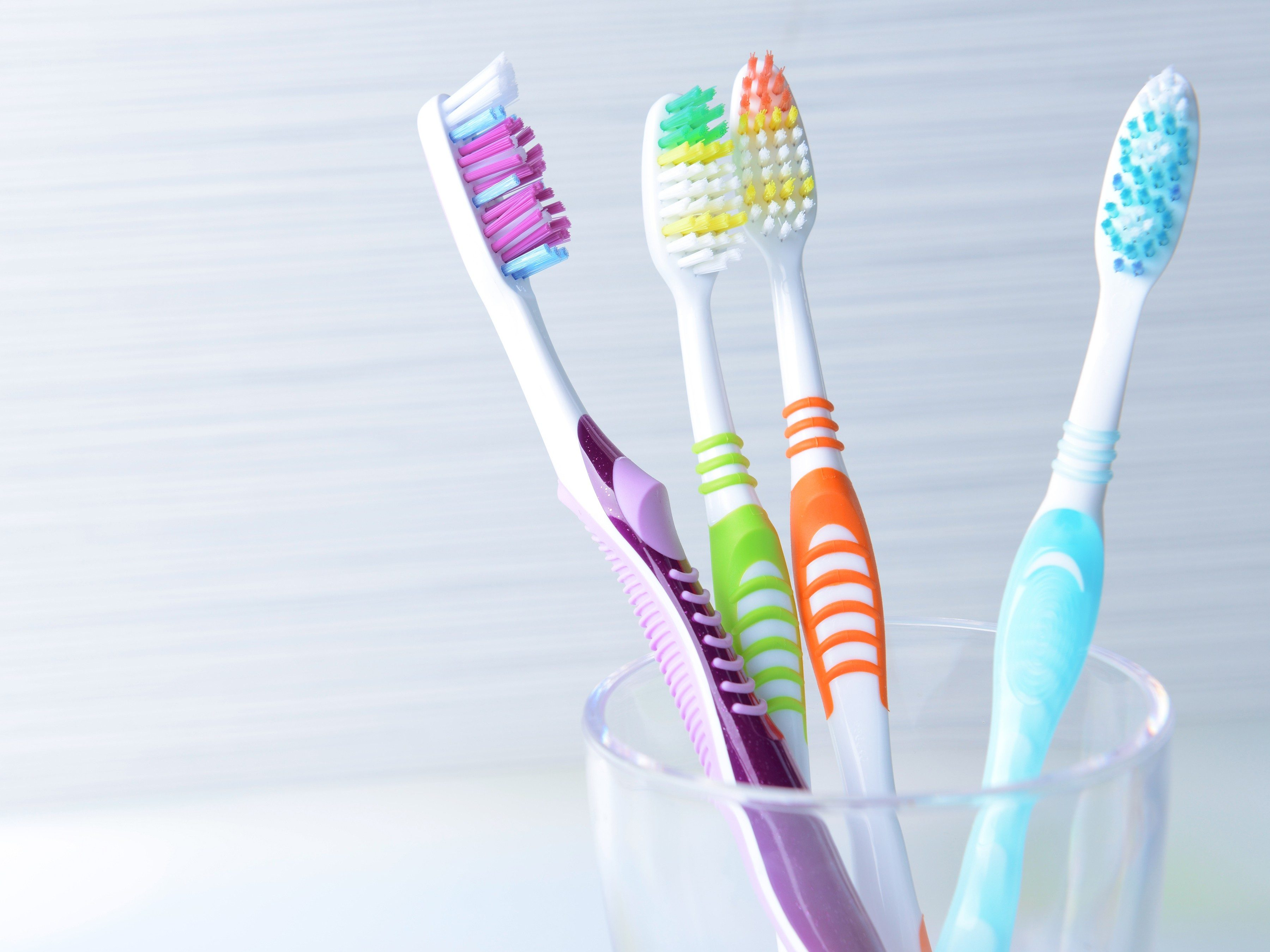 8. Germs love toothbrushes.