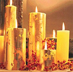 Gilded Candles