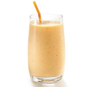 Scrumptuous Ginger-Peach Wintertime Smoothie