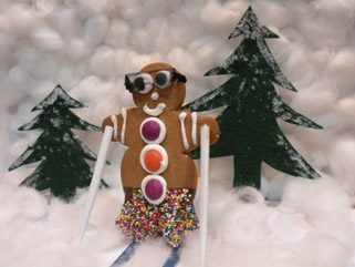 Gingy Skiing