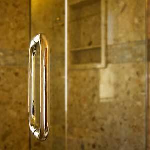 Make Glass Shower Doors Sparkle