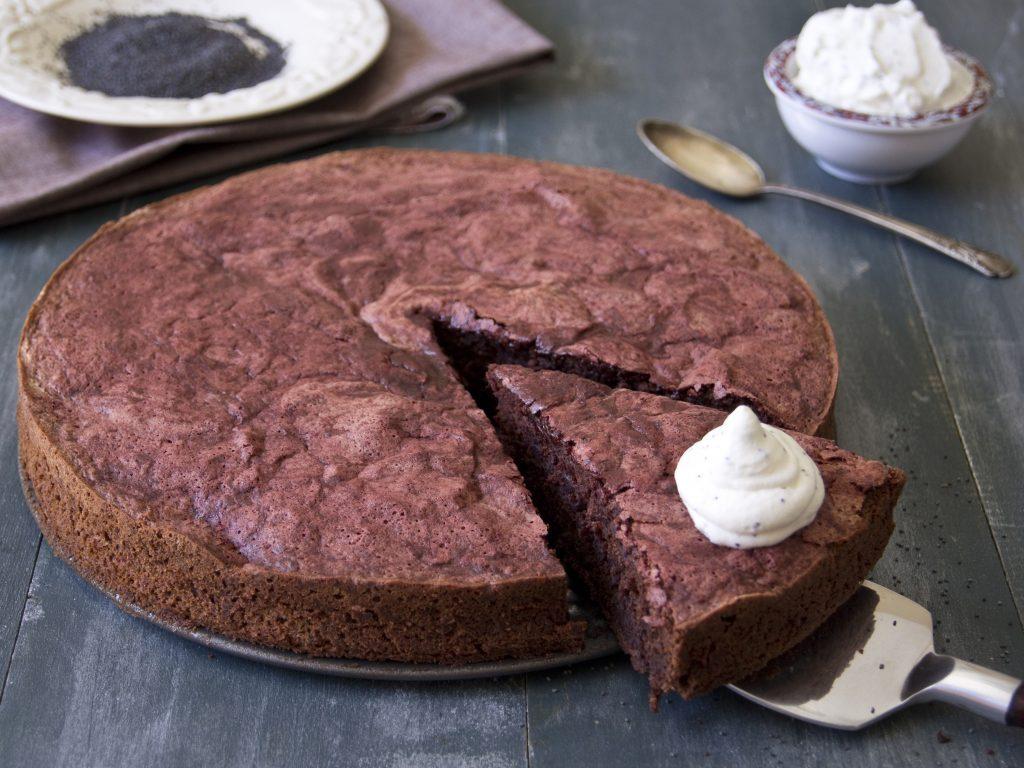 Chocolate Chickpeas Cake