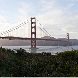 1. Golden Gate Bridge