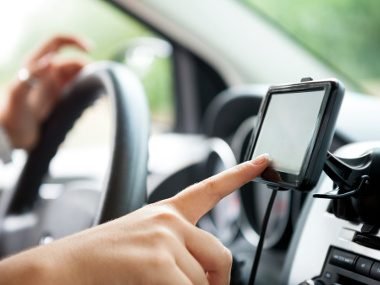 Manually Entering Information on GPS Units